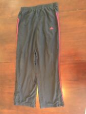 adidas Climalite Men's Large Black Workout/Exercise Pants Tl7