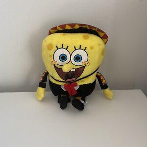 Nickelodeon Viacom 2012 SpongeBob Squarepants Mariachi Band Plush Toy