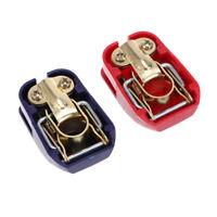 1 Paar KFZ Auto Batterie Schnellklemmen Polklemmen Batterieklemmen PKW 12V Boot