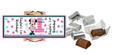 MINNIE MOUSE FUN TO BE ONE HERSHEY's NUGGET WRAPPERS 1ST BIRTHDAY PARTY FAVORS