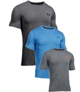 Under Armour Mens UA Threadborne Fitted Training T-Shirt Slim Fit Gym 1289588
