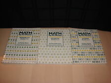 3 Math By All Means Grade 3-4 Book Lot Division Geometry Probability Homeschool