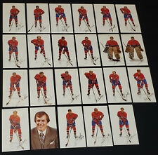 1985-86 MONTREAL CANADIENS NHL HOCKEY PLAYERS POSTCARDS (23) PAT. ROY first year