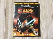Lego Star Wars: The Video Game Player's Choice Nintendo GameCube, 2006 Complete