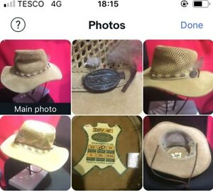 ROGUE SOUTH AFRICAN HAT(S)LEATHER & COTTON ,con't...