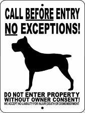 Cane Corso Dog Sign, Guard Dog,9x12 Aluminum Sign,Gate Sign,Dog Sign,