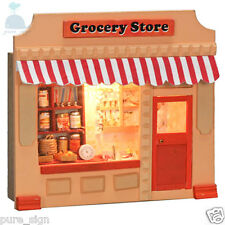 DIY Handcraft Miniature Project Dolls House European Mini Shop The Grocery Store