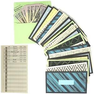 Cash Envelopes Money Budget Planner- 24 Pack Budget Envelopes -6 Assorted Cute C