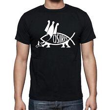 Viking Osiris Jesus Fish Walking T shirt tee
