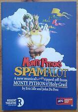 Monty Python's Spamalot programme Stoke-On-Trent Regent Theatre 2010 Todd Carty