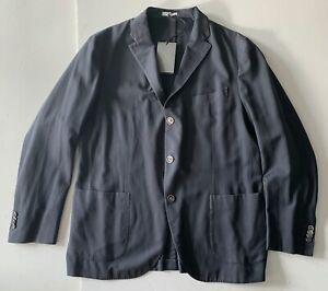 boglioli DUSTY BLUE jacket blazer UNCONSTRUCTED coat it56 usa44 NEW