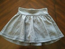 Justice Girls Grey Heart Athletic Skirt w/ Built in  Shorts Size 8