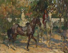 Lavery John Sir The Morning Ride Canvas 16 x 20   #3146