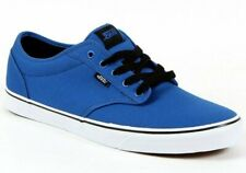 Mens Vans Atwood. Canvas. Blue-Black Trainers Shoes. Big Sizes: 14.