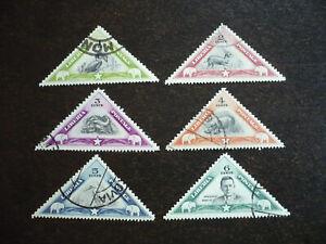 Stamps - Liberia - Scott# 271-276