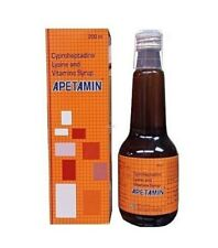 BRAND NEW 100% Genuine Apetamin Weight Gain Syrup 200ml.