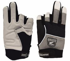 Gatorback 634 Fingerless Goat Skin Professional Work Gloves. By Contractor Pro