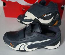 NEU Puma Kart Racing Schuhe Sneaker CAT Gr. 34 Leder 300890 10 Klettverschluss