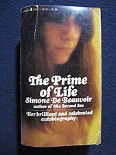 Prime of Life [Paperback] [Jan 01, 1966] Simone De Beauvoir