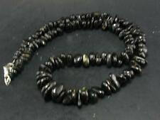 """RARE NUUMITE NUUMMITE NECKLACE FROM GREENLAND 18"""""""