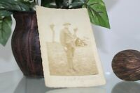 Vintage Signed Postcard Early 1900's or late 1800's A soldier Collectible Item