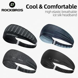 ROCKBROS Sports Headband Outdoor Cycling Running Sweat Anti-slip Cool Headband