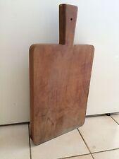 Ancienne Planche à Découper cuisine boucher vieux métier art populaire 23MAIB