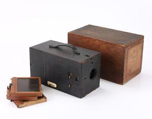 KODAK NO. 3 REGULAR KODET, IN ORIGINAL BOX WITH THREE PLATE HOLDERS/cks/207900