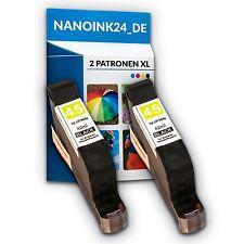 2x Tintenpatronen für HP 45 XL  Deskjet 930 930C 815 820 870 890  bei Nano