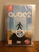 Q.U.B.E 2 - Super Rare Games #13: QUBE 2 -Nintendo Switch -Brand New Sealed