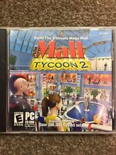 Mall Tycoon 2 (2004, Win PC CD-ROM) Build the Ultimate Mega Mall - simulator