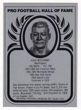 HUGH McELHENNY 1982 Football Hall of Fame Metallic Metal Card 49ers NM - MT
