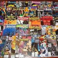 50 Comics Lot Batman Detective Comics #440-825 + Annuals & more VF to NM