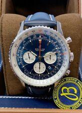 Breitling Navitimer 01 AB012721 46mm Watch Blue Dial 2019 UNWORN
