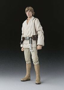 BANDAI S.H.Figuarts Star Wars Luke Skywalker (A NEW HOPE) Japan  F S