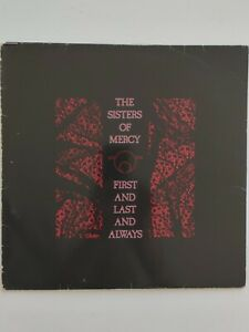 THE SISTERS OF MERCY FIRST and LAST and ALWAYS 1985 LONDON
