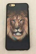 Effet 3D Hologramme Lion Head Pattern Coque Pour iPhone 6/6s Plus + Screen Guard