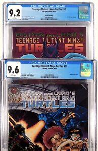 Teenage Mutant Ninja Turtles 32 And 32 Second  Print  CGC 9.2 9.6 TMNT Not 9.8