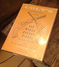 COLT'S Variations OLD MODEL POCKET PISTOL Shumaker 1966 FREE US SHIPPING Rare!