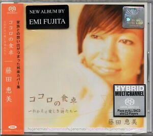 EMI FUJITA 藤田恵美 Kokoro no Shokutaku 食卓 MALAYSIA / JAPAN HYBRID SACD RARE NEW
