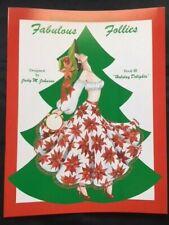 Fabulous Follies, Holiday Delights by Judy M Johnson, 1992, Uncut/Mint