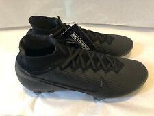 Nike Mercurial Superfly 7 Elite Fg Soccer Cleats Black Aq4174-001 Men's Sz 10.5