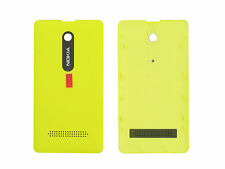 Genuine Nokia Asha 210 Yellow Battery Cover - 02503F4