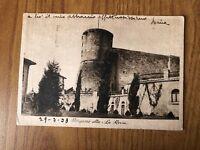 CARTOLINA BERGAMO ALTA LA ROCCA VIAGGIATA 1938 WW