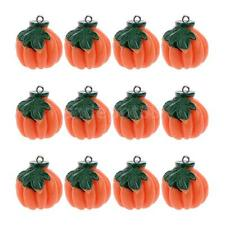 12x Pumpkin Vegetables Pendant Keyring Key Chain Phone Hangings DIY Charms
