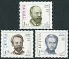 Lithuania 2000 637/39 Characters (3 Val