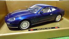 ASTON MARTIN DB7 bleu metal au 1/18 GUILOY 67007 voiture miniature de collection
