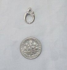 NEW 925 Mother and Child Pendant, sterling silver, petite mother's charm, 0.9 gr