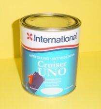 VERNICE ANTIVEGETATIVA INTERNATIONAL CRUISER UNO PER BARCHE 0,75 LT BIANCA