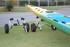 KAYAKART Small Anodised Kayak Trolley Cart SUPERIOR GUARANTEED  BRANDED QUALITY